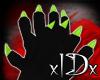 xIDx Tiny Lime Claws F