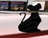 ~TQ~black Porcelain cat