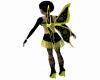 Lil Fairy Costume Black