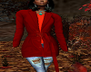 FG~ Red Trench Coat
