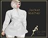 jacket leather white
