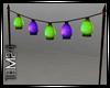 lime&Purple lanterns