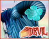 [Devil] Blue horns