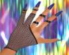 v04 gloves blk/dark blue