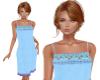 TF* BOHO Blue Sundress
