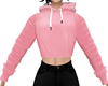 Baby Pink Short Hoody