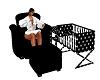 Polka Dot Feeding Chair