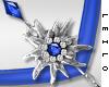 ! L! Paula Necklace Blue