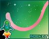 {R} Cheap Pink Fur Tail