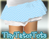 Kids Blue Dots Skirt