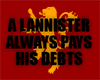 HDMI| LANNISTER Headsign
