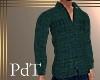 PdT Teal Wool Shirt M