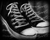 m.. Sneakers Grunge Dirt