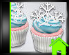 ! SNOWFLAKE CUPCAKES