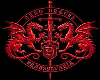 (CD) Red Dragon Sticker