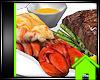 ! LOBSTER STEAK DINNER