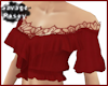 ViBE Red Blouse