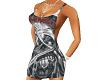 Metal tank dress