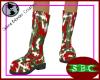 Christmas CAMO Boots F