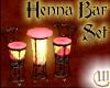 Henna Bar Table Set