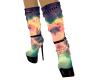 Galaxy Calf Boots
