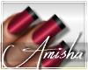 AMI Emily Burgundy Nails