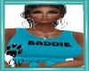 CW Baddie Blue Tie Top