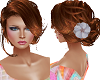 TF* UPDO with a flower