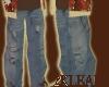 {2 {lean} Blue Jeans