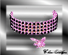 Play boy Necklace Pink