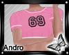 !! Pink Sport Top