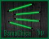 [bp] Neon Wall Lamps Grn