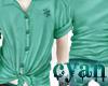 *c* Cyan Tied up Shirt