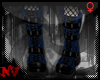 ✚Gothic Blue-Boots