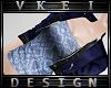 V' +Custom Blue Top+