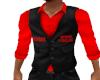 Uptown Vest Red Shirt
