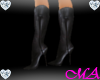 !MA! Black Cowboy Boots