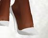FG~ White Silk Heels