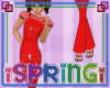 *S* Child overall red