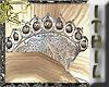 Silver Boho Mantilla