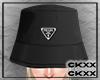 pd bucket hat black