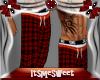 Plaid Pj's Pants - Red