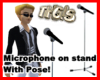 THGIS MIC ON STAND