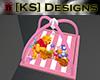 [KS] Pooh Playmat Pink