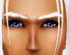 White eyebrows