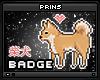 shiba badge.