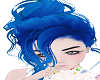 Messy Blue