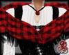 Aberdeen Shawl Red