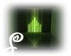 =S= Green Square Neon