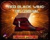 DM:RED & BLACK WING-TIPS